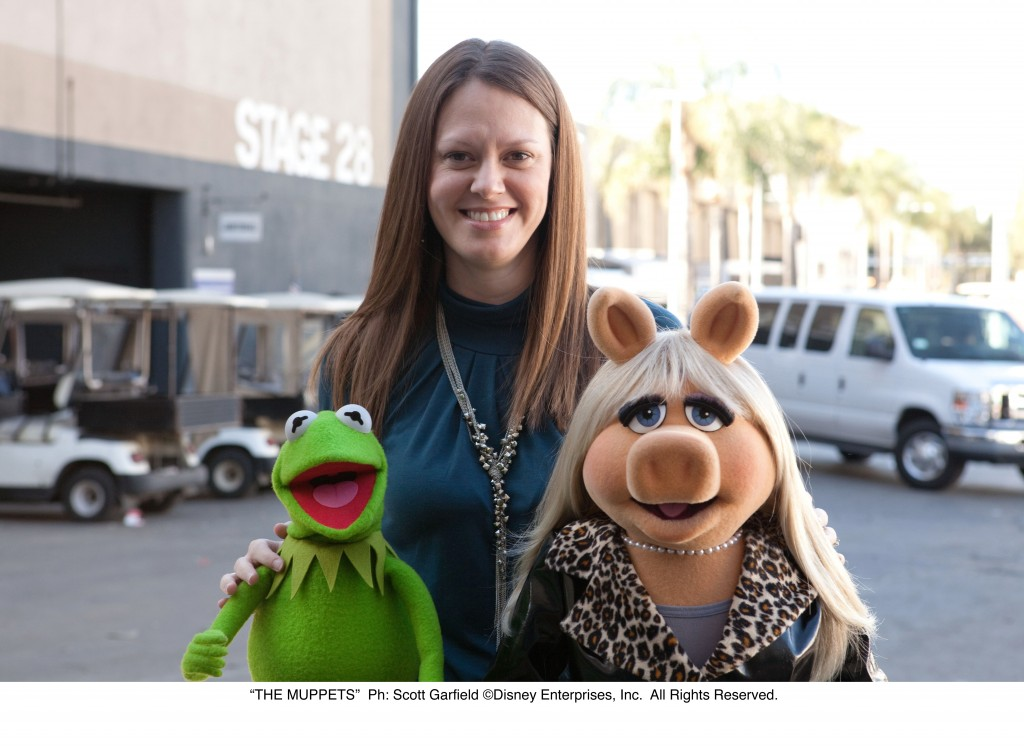 photo with kermit and miss piggy