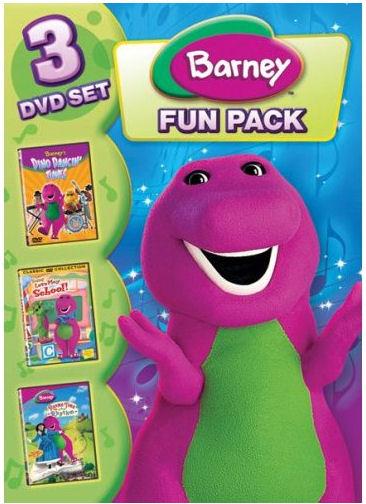 barney 3 pack dvd