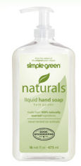 simple green hand soap