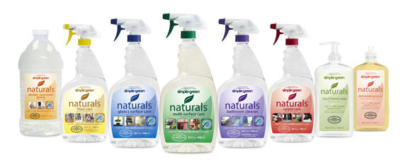 simple green naturals products line