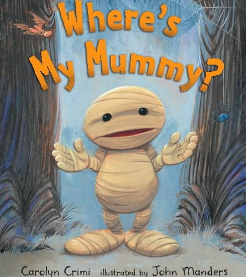 wheres my mummy book cover
