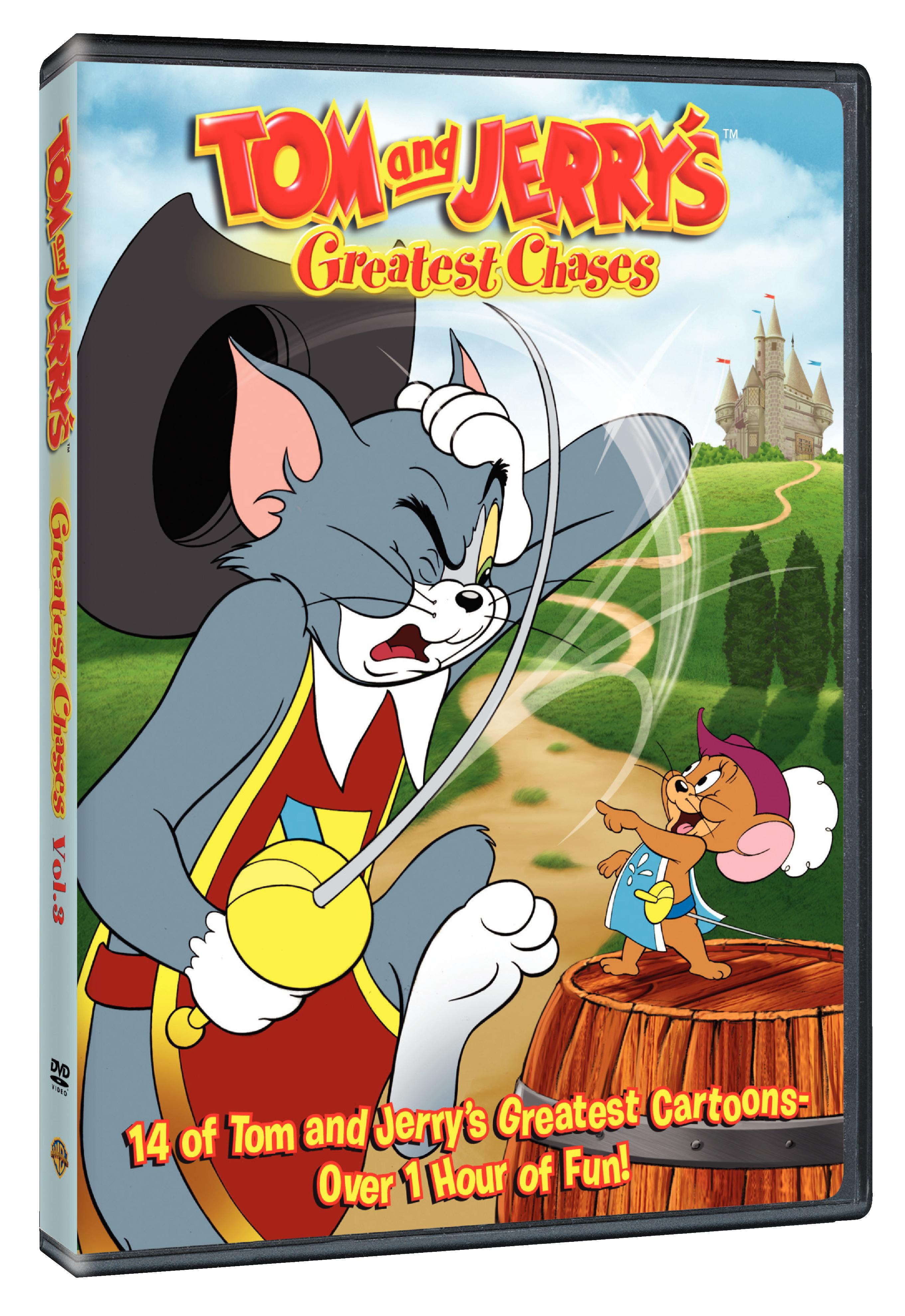 Warner Home Video will release Tom and Jerry's Greatest Chases ...
