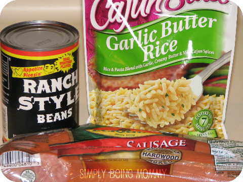 semi-homemade red beans and rice recipe