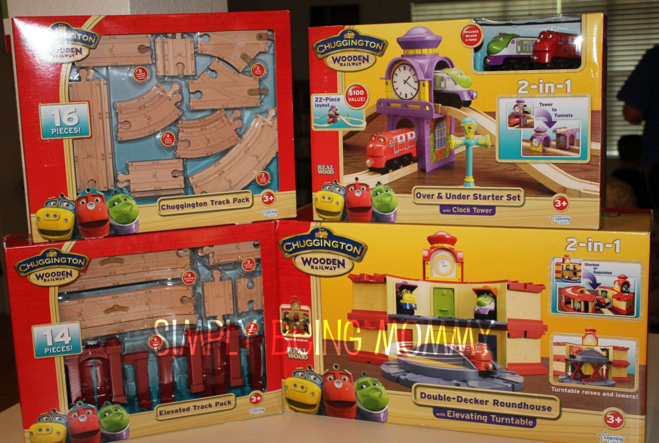 All Day Fun with the Chuggington Wooden Railway Set + Giveaway ...