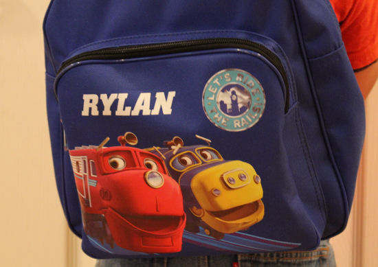 Personalized Backpacks From Ty's Toy Box