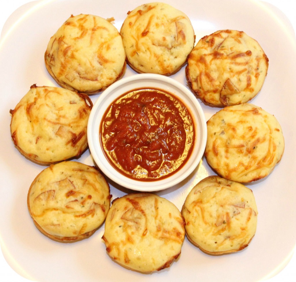 pepperoni pizza muffins recipe
