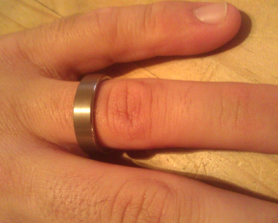 Mens Wedding Ring Hand