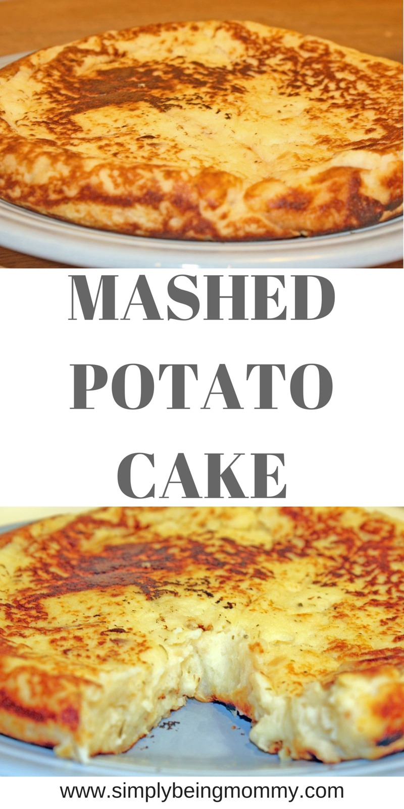 Try your mashed potatoes a different way. Try this Mashed Potato Cake recipe!