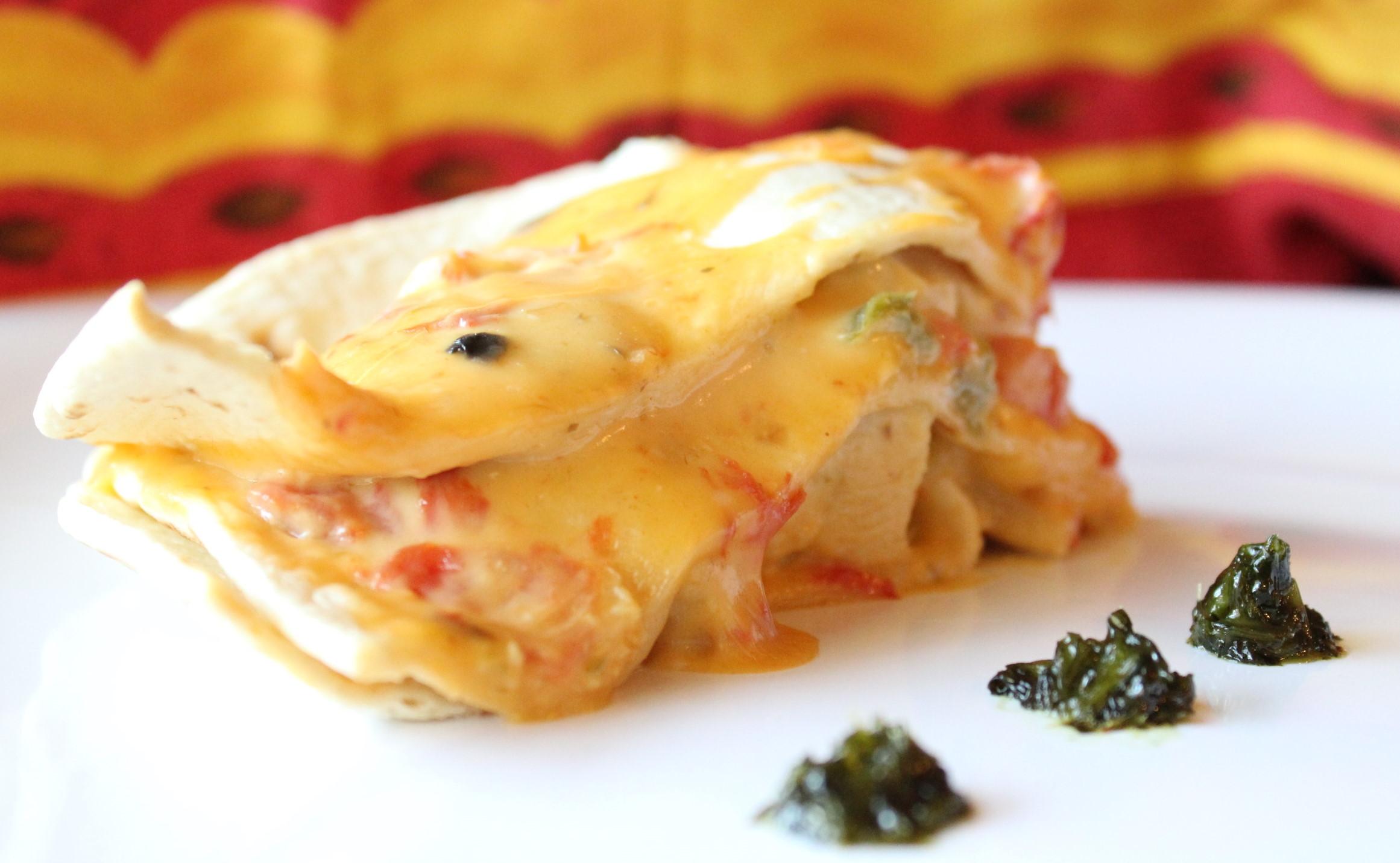 velveeta chicken tortilla bake recipe