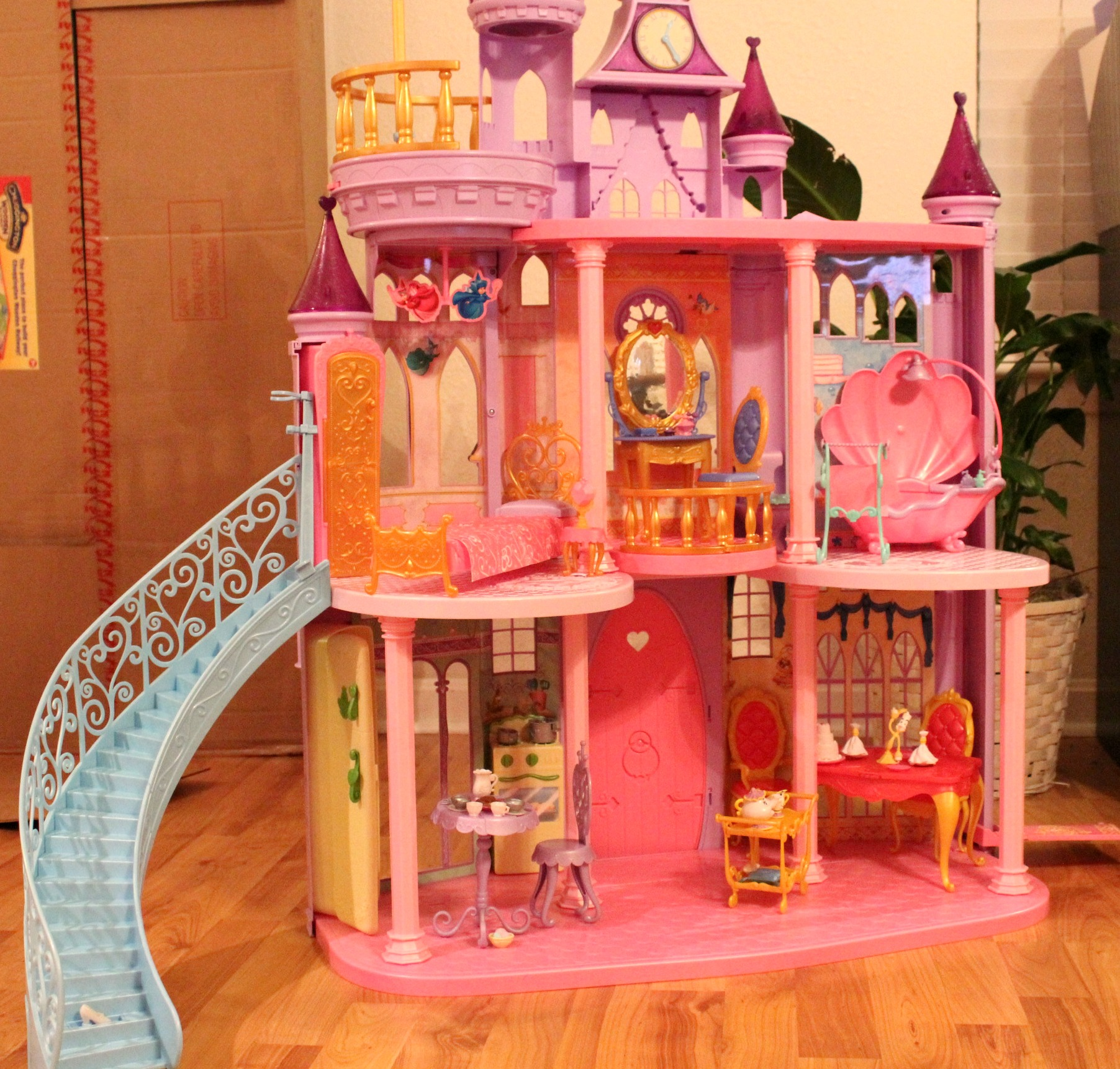 Disney princess ultimate dream castle simply being mommy