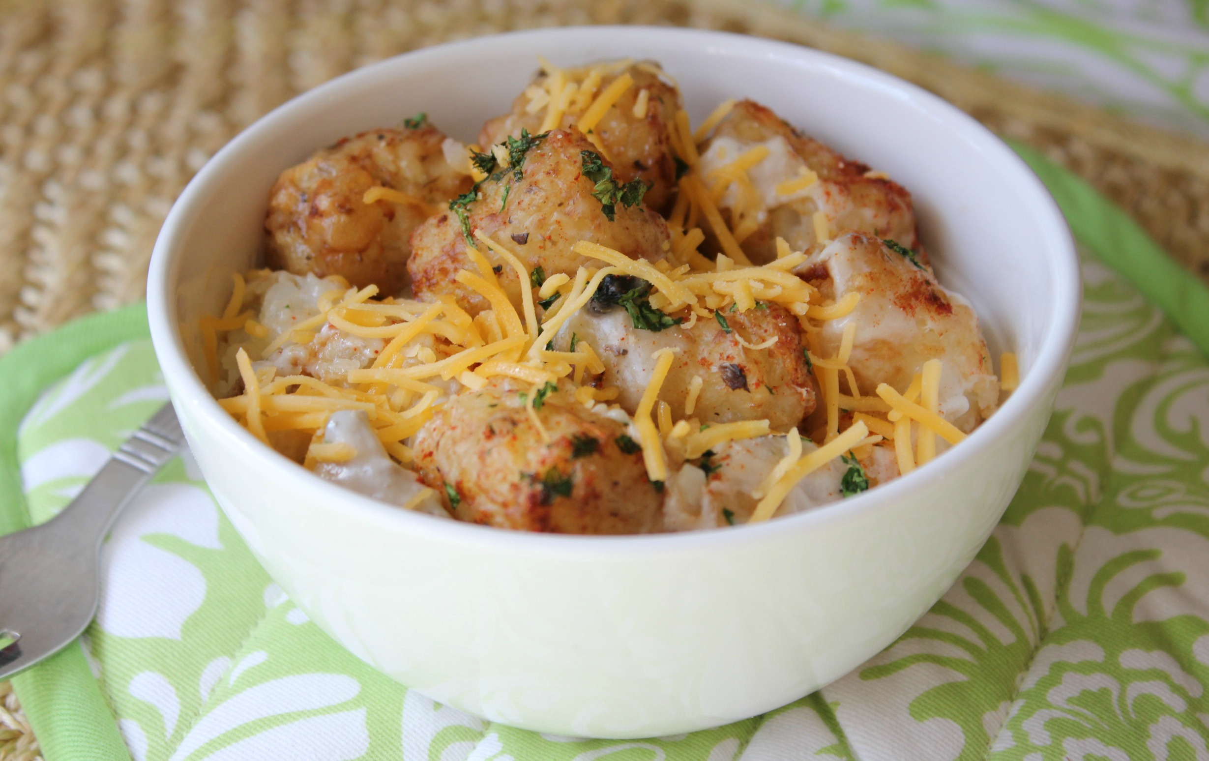 Easy Tater Tot Casserole | Simply Being Mommy
