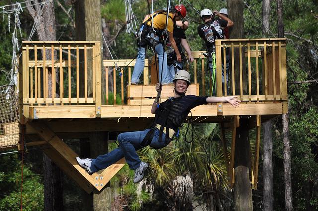 eco safari ziplining