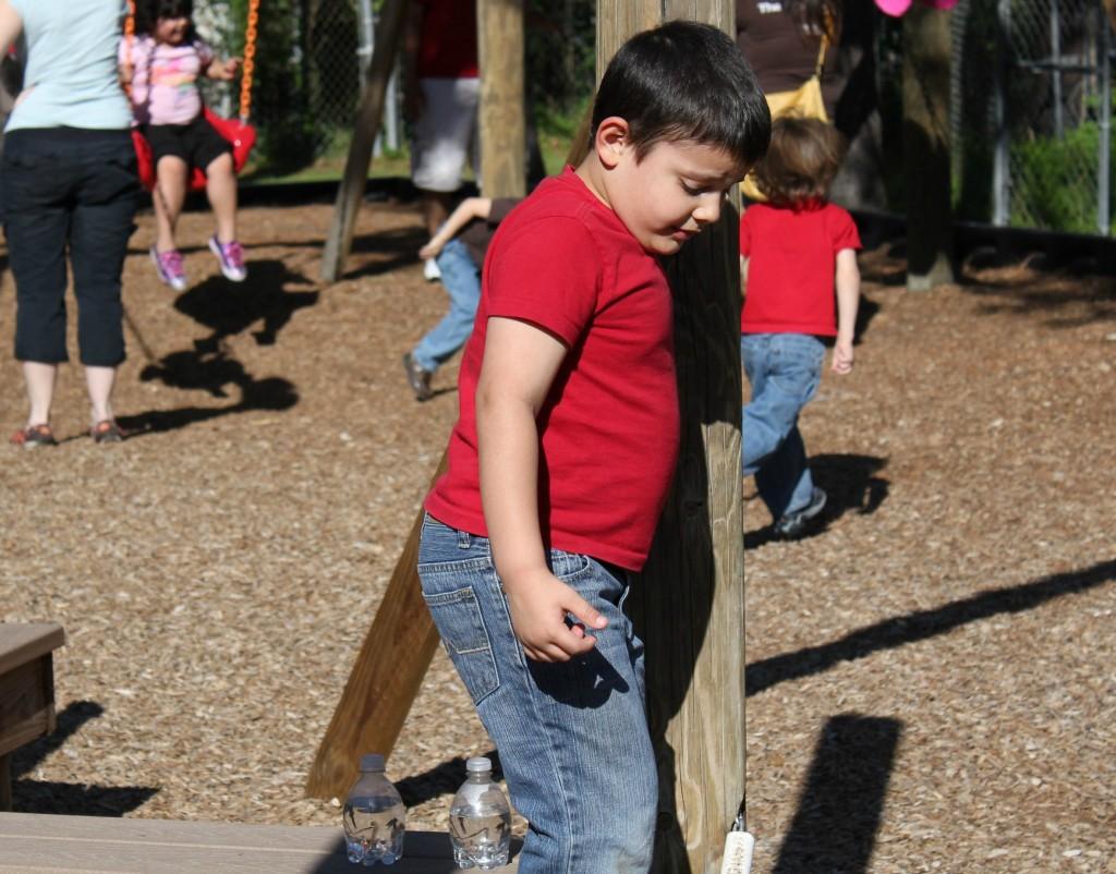 rylan at the park
