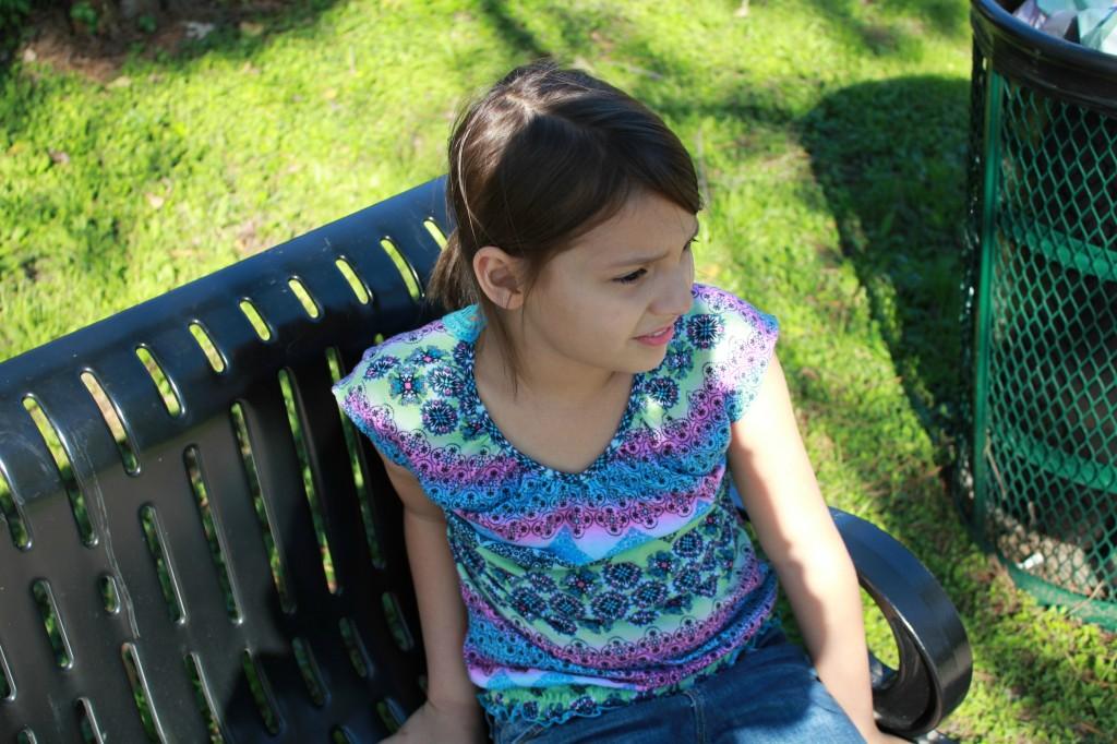 taylor at the park