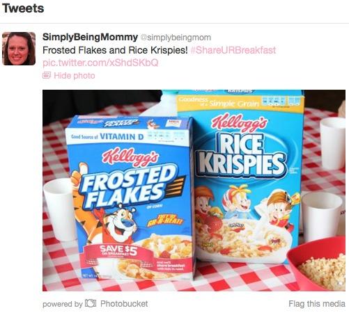 national breakfast week tweet
