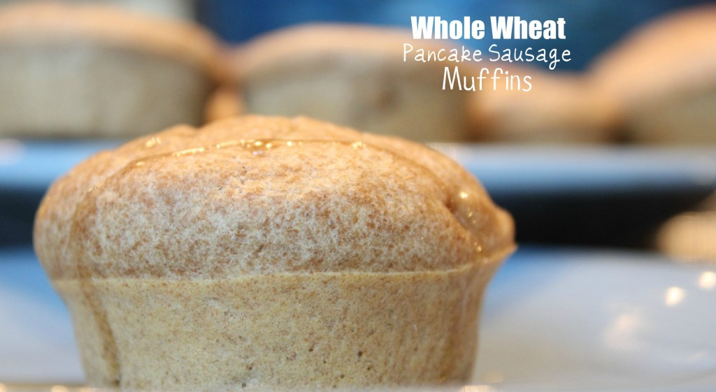 whole wheat pancake sausage muffin recipe