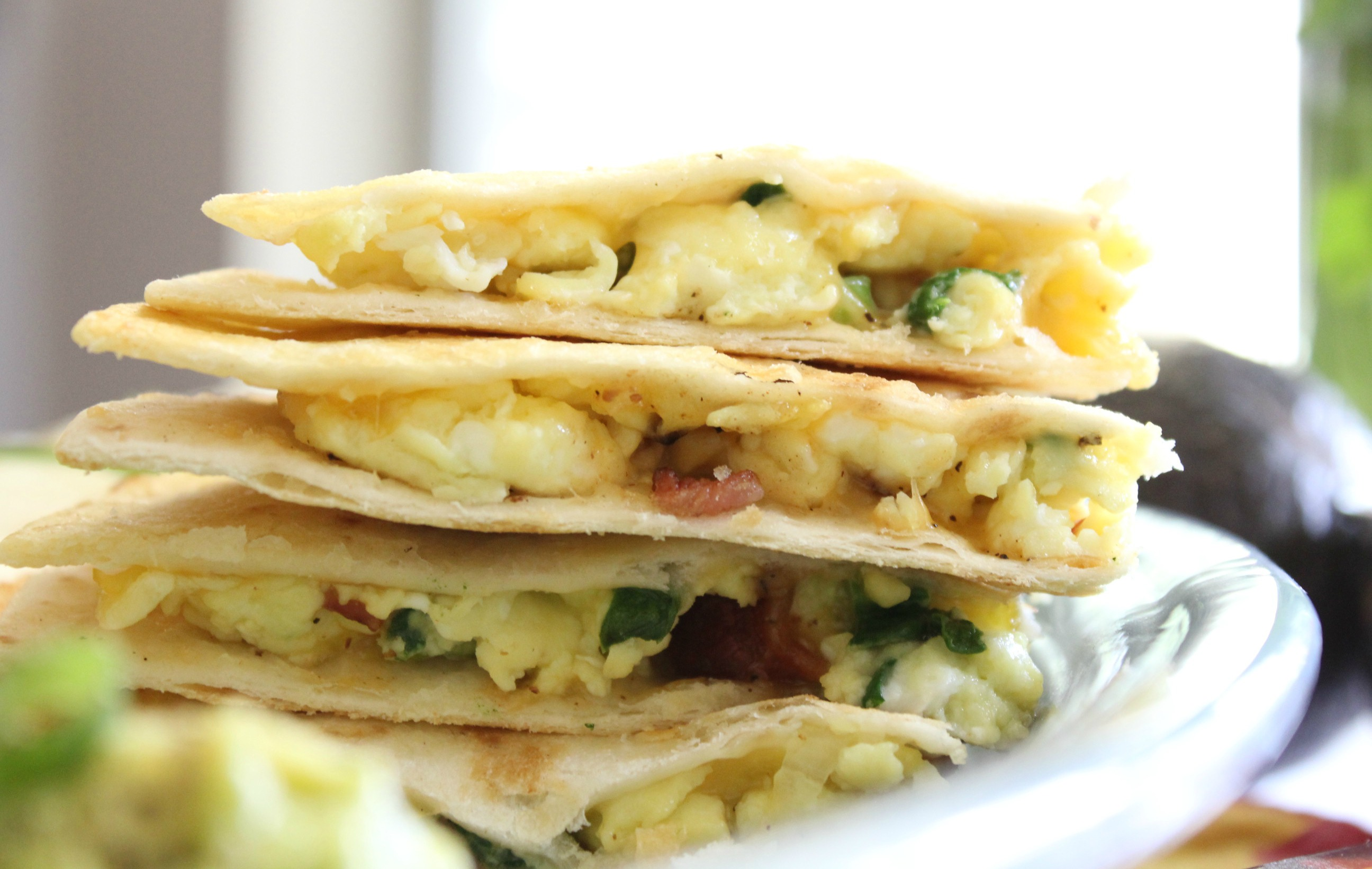 Easy Breakfast Quesadilla | Simply Being Mommy
