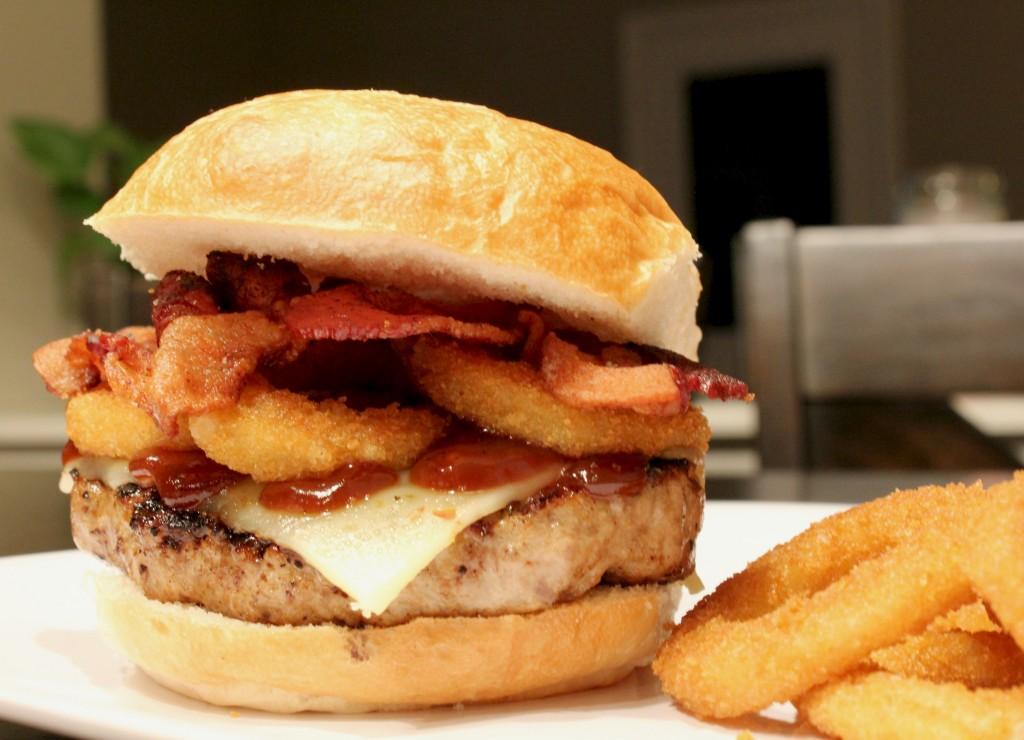 italian texas bbq burger