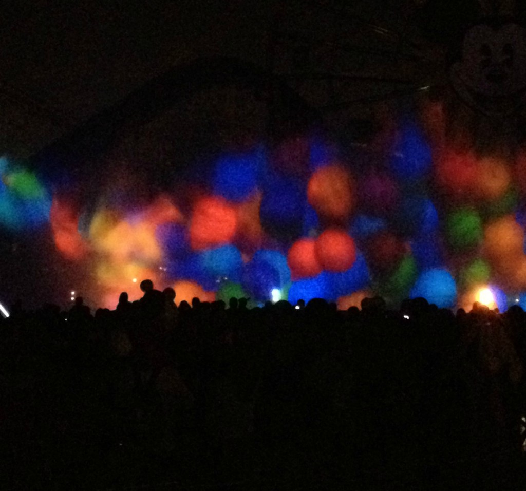 disneyland world of color balloons