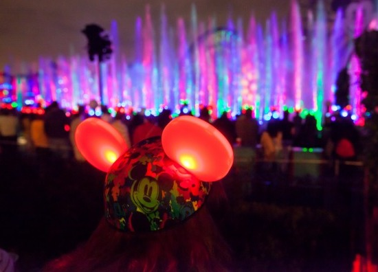 disneyland world of color mickey ears
