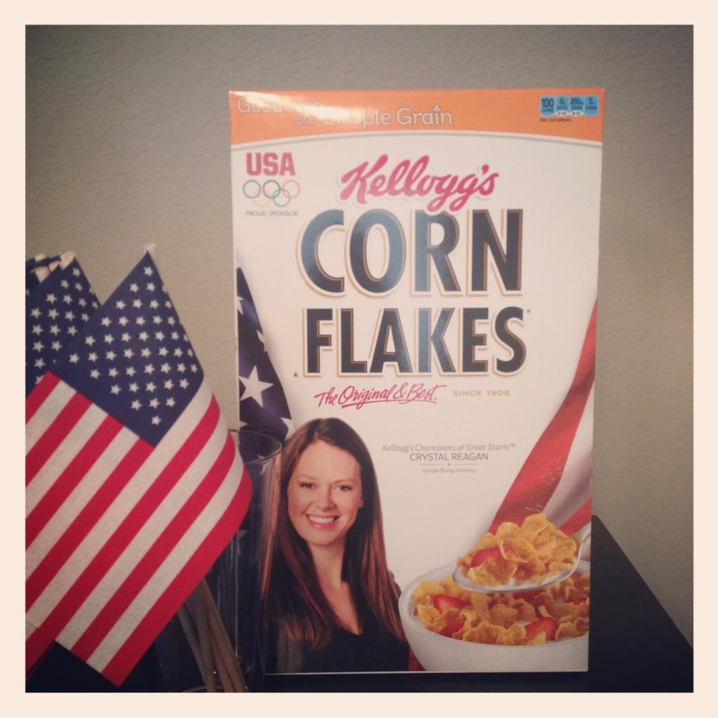 kelloggs cereal box