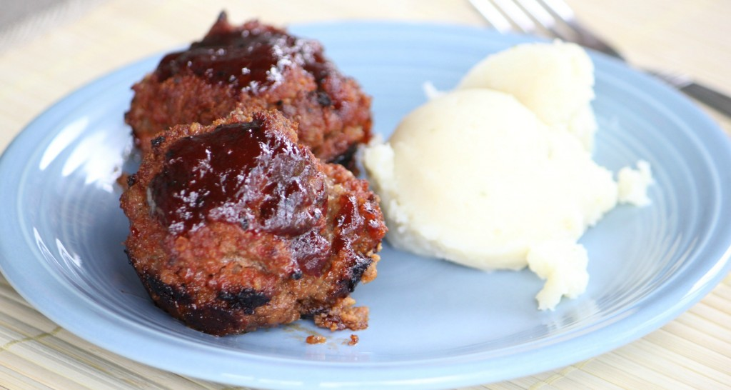 mini barbeque meatloaf