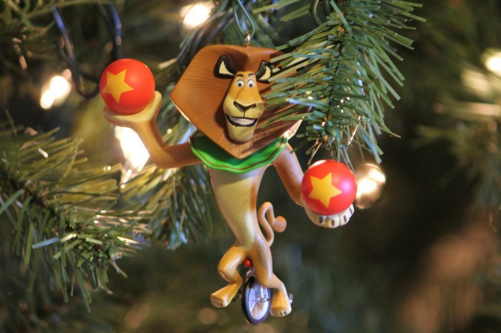 madegascar hallmark keepsake ornament