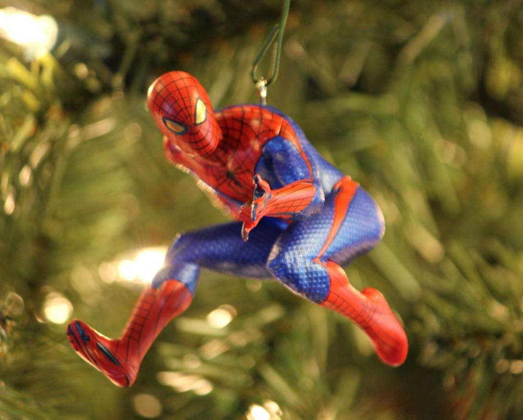 hallmark spiderman keepsake ornament