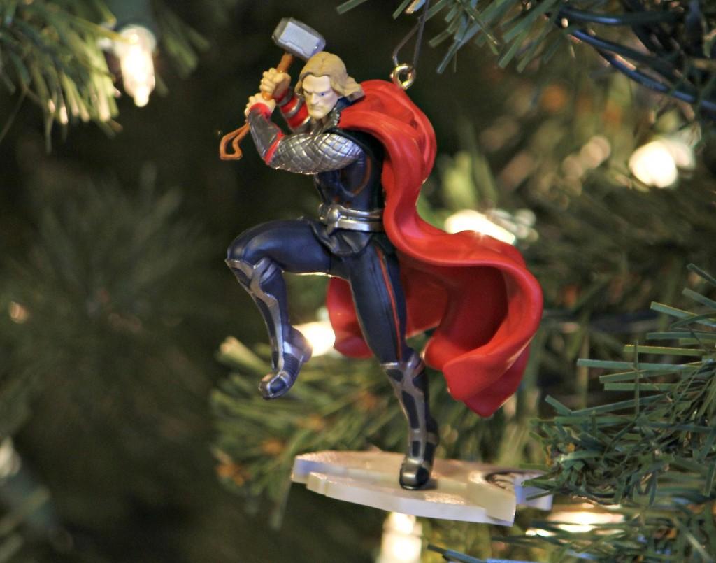 hallmark thor keepsake ornament