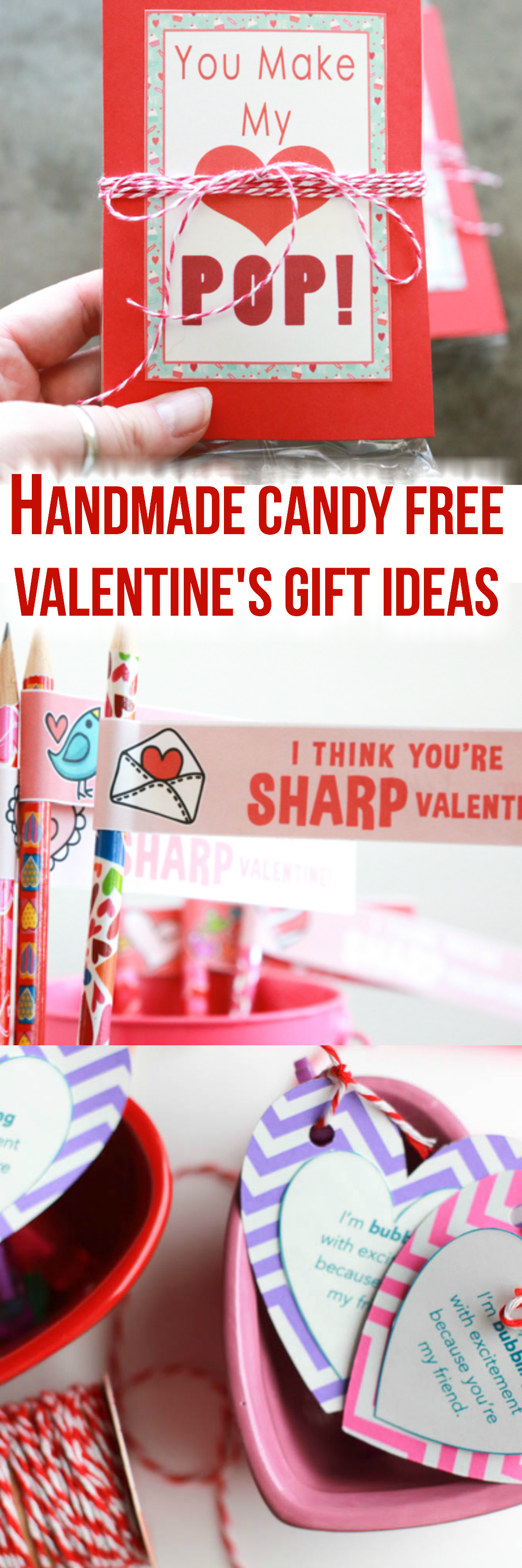 Tired of the sugar overload on Valentine's Day? Try one of these Handmade Candy Free Valentine's Day Gift Ideas instead.