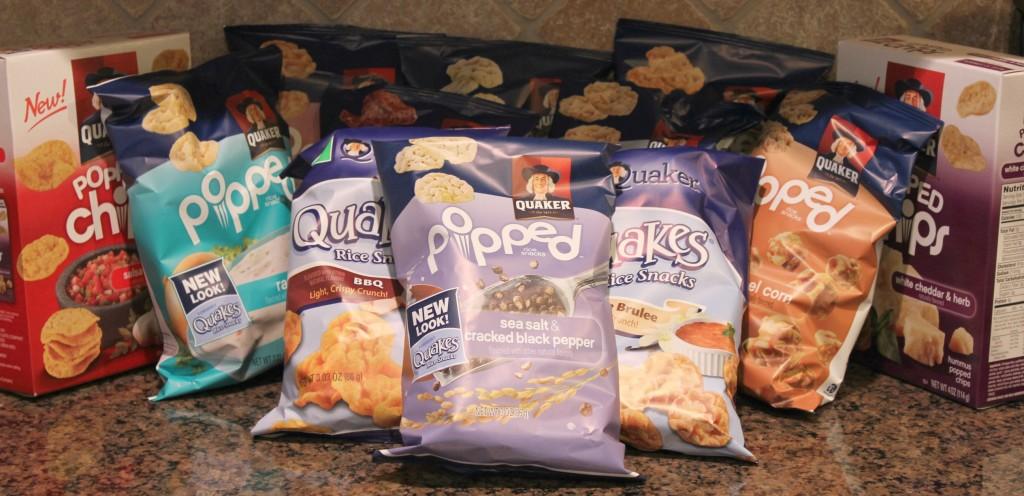 quaker popped rice snacks
