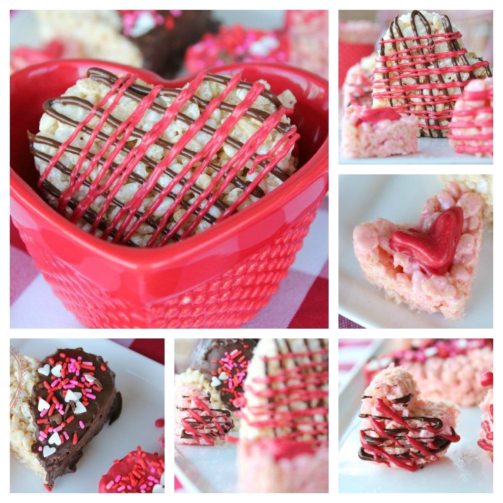 These Valentine's Rice Krispies Treats are just perfect for the holiday of love. Dontcha' think?
