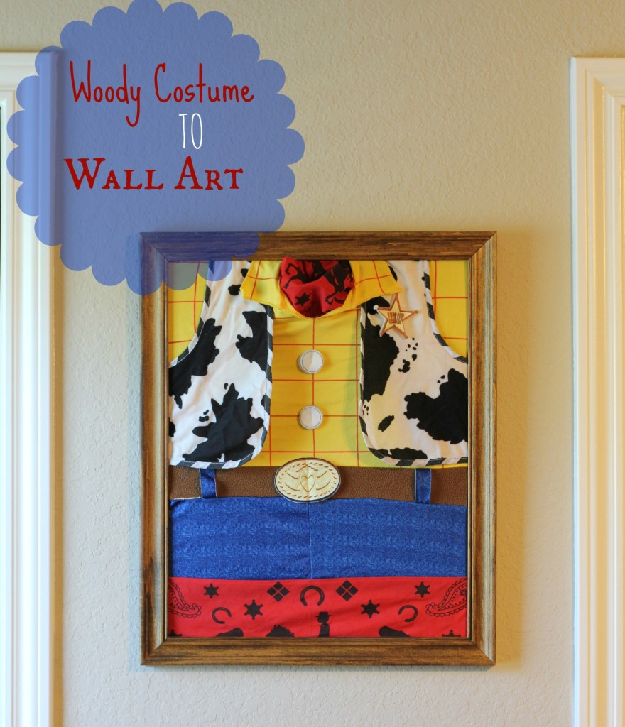 wall art from woody costume