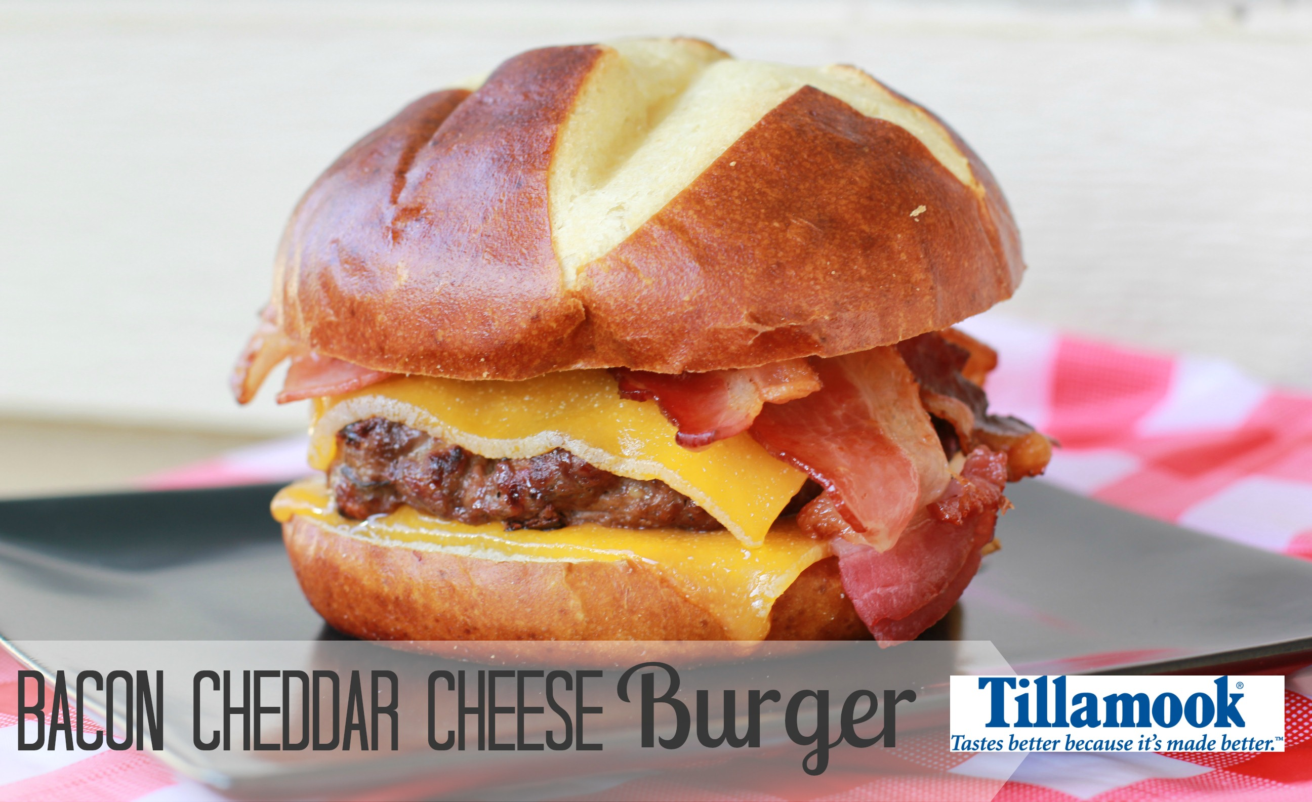 Bacon Cheddar Cheese Burger | Simply Being Mommy