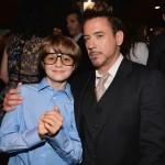ty simpkins with robert downey jr
