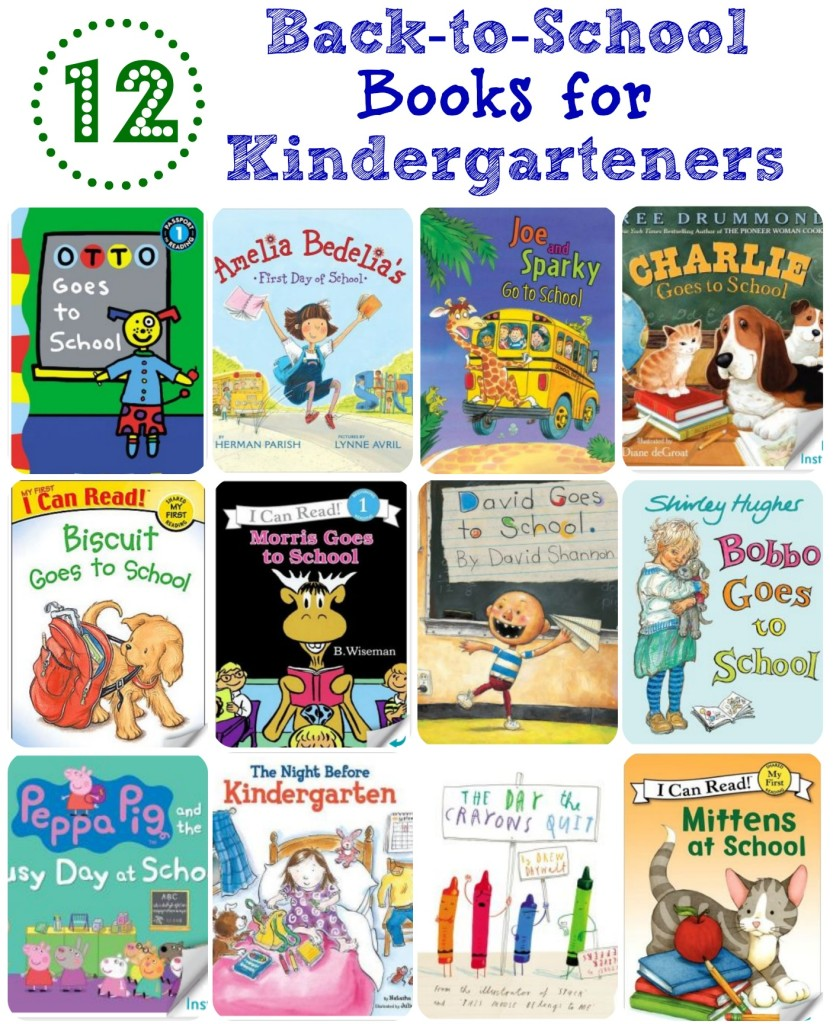 12 Back-to-School Books for Kindergarteners | Simply Being Mommy