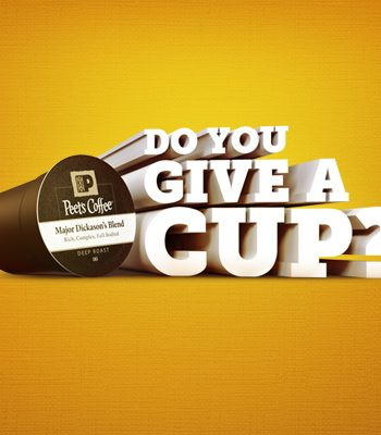 do you give a cup