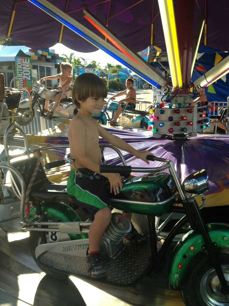summer adventures in fair park toddler ride