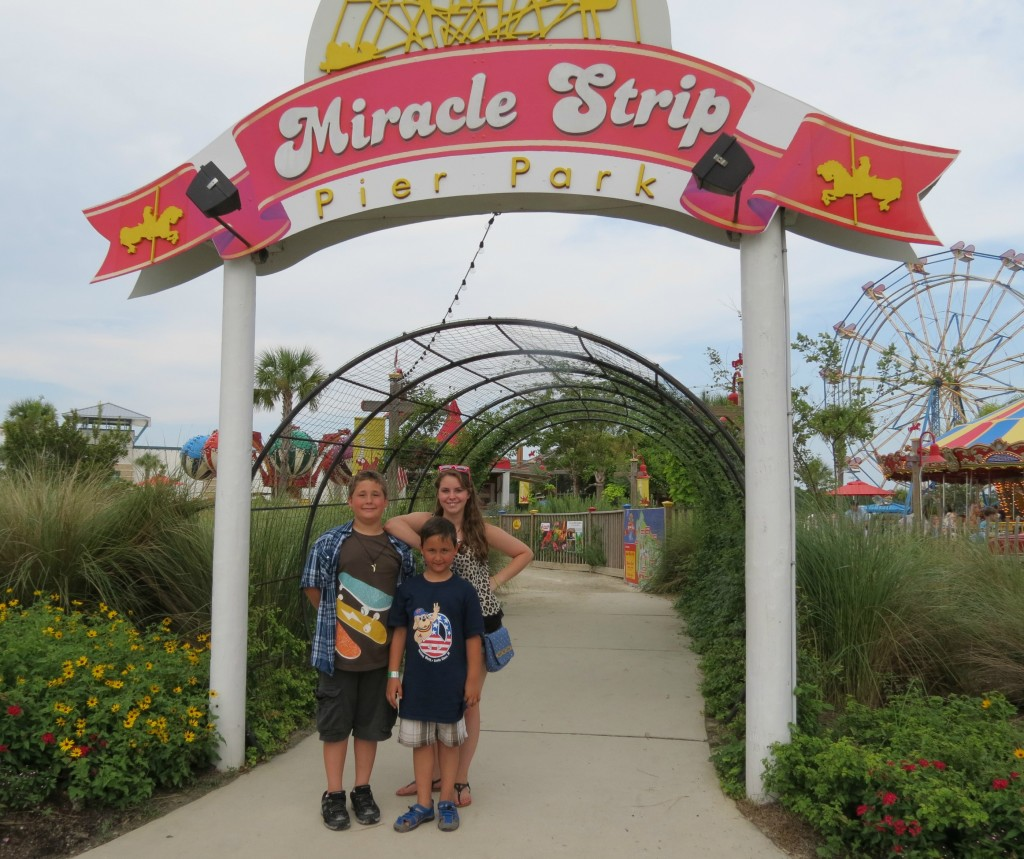 miracle strip at pier park