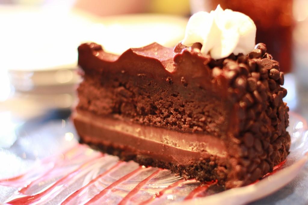 restaurant degolyer chocolate cake