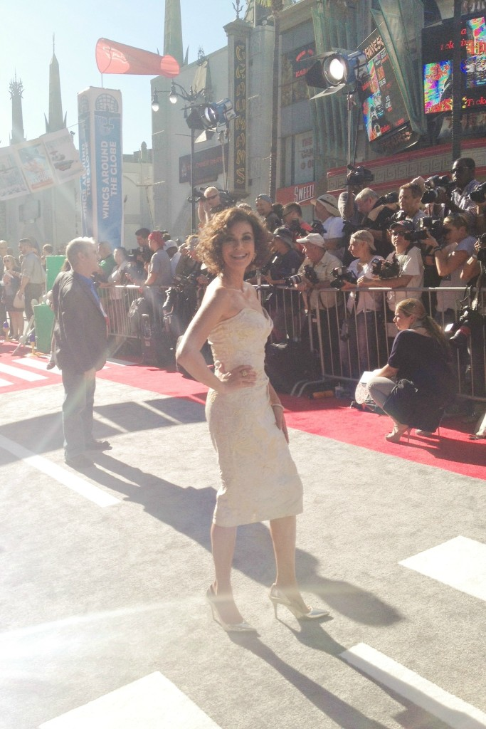 teri hatcher at disney planes premiere