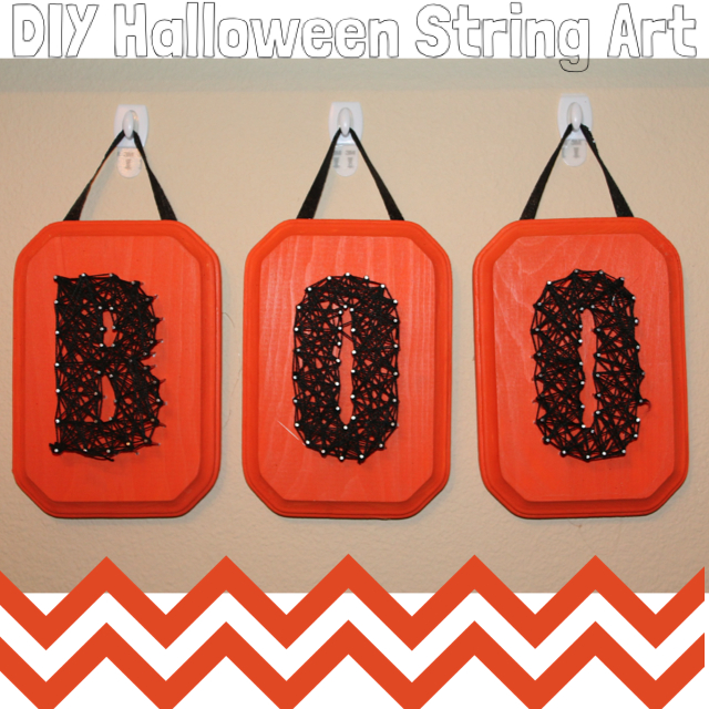Create your own Halloween masterpiece with string. Let your creativity flow with DIY Halloween String Art.