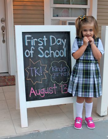 Harper 1st Day of School