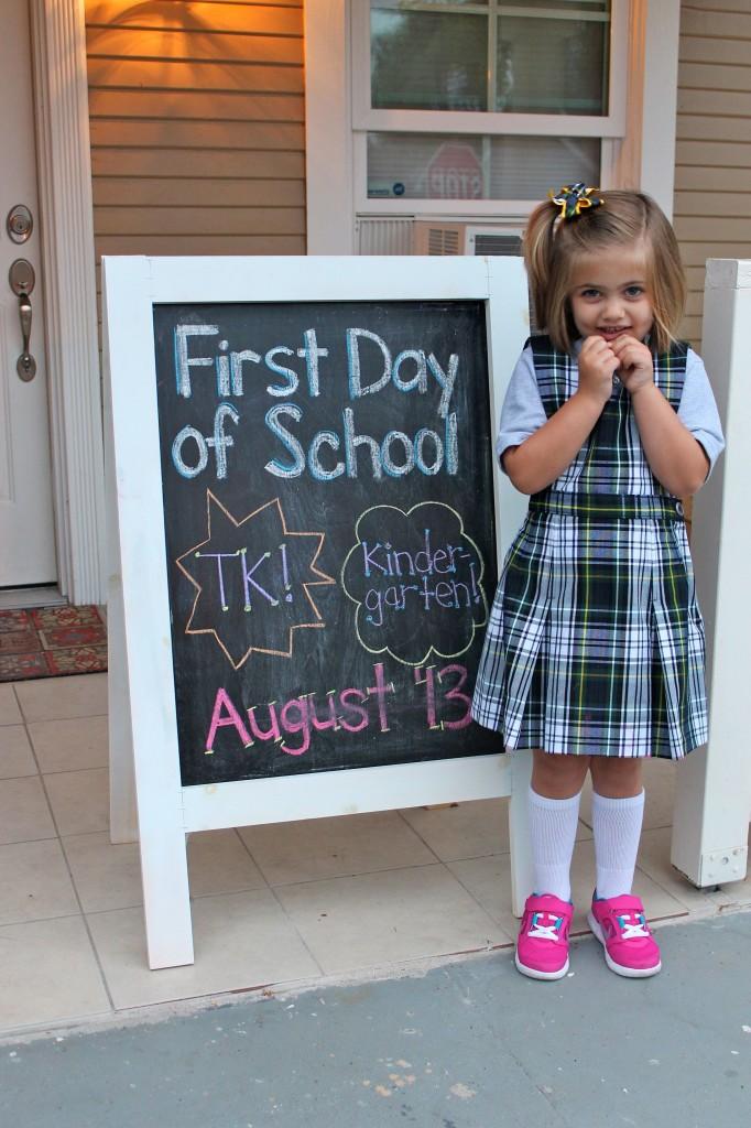 Harper 1st Day of School