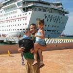 children on a cruise