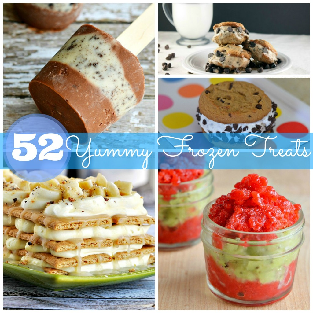 52 frozen treats