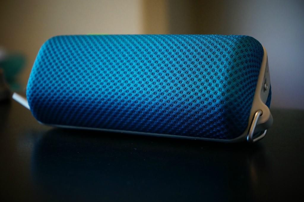 sony turquoise speaker