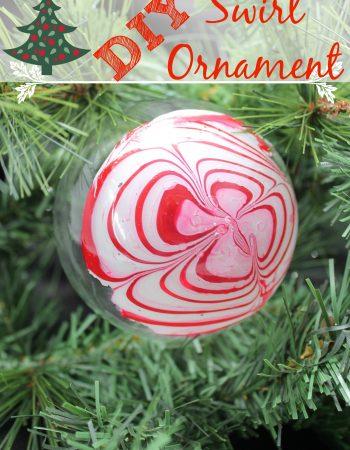 DIY Swirl Ornament
