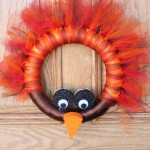 DIY Turkey Wreath