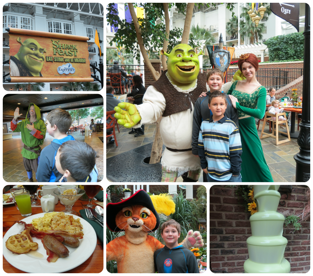 Shrek Feast at ICE